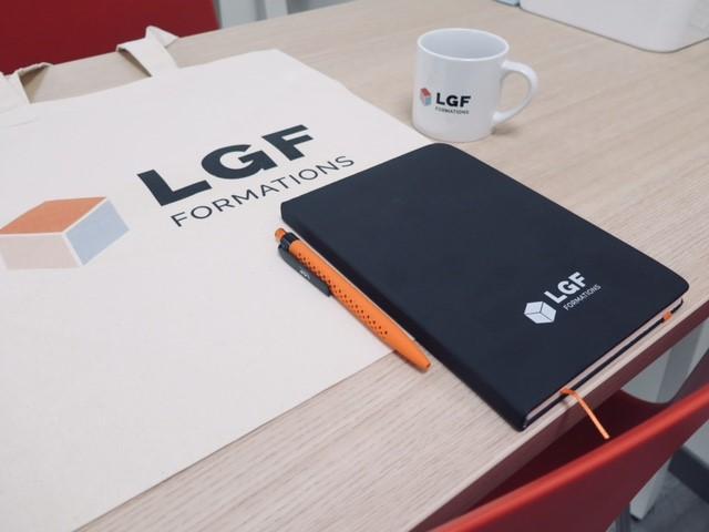 logo LGF Formations - centre de formation vape -formations technologie de la vape